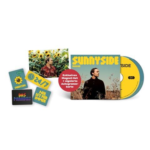 Sunnyside (Ltd Bundle: Deluxe 2CD + 4er-Magneten Set + signierte Karte) by Bosse - 2CD + Magneten-Set + Karte - shop now at Bosse store