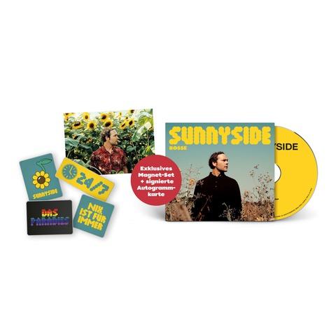 Sunnyside (Ltd Bundle: CD + 4er-Magneten Set + signierte Karte) by Bosse - CD + Magneten Set + Karte - shop now at Bosse store