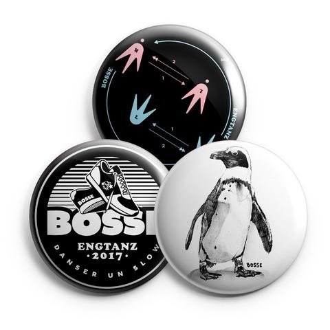Engtanz von Bosse - 3er Button Set jetzt im Bosse Shop